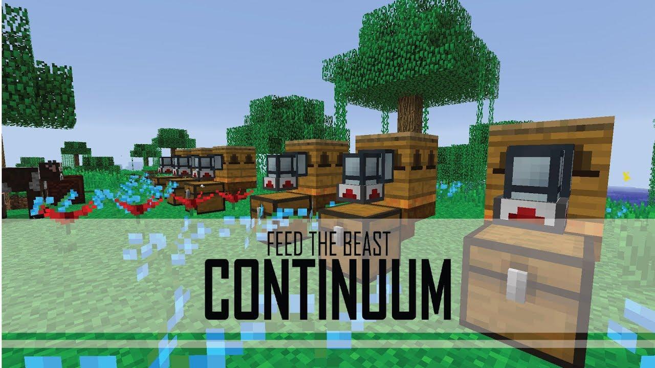 BETA] FTB Continuum - 13 - BEE SURVIVAL