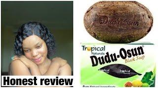 BEST AFRICAN GLOWING BLACK SOAP|DUDU OSUN REVIEW| #skincare #duduosun #tone