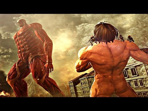 Attack On Titan 2 Final Battle - Armored & Colossal Titan Fight (Season 3 Final Battle) PS4 Pro