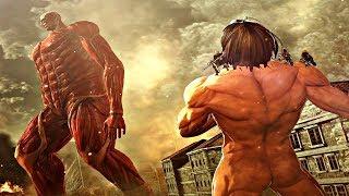 Attack On Titan 2 Final Battle - Armored & Colossal Titan Fight (Season 3 Final Battle) PS4 Pro