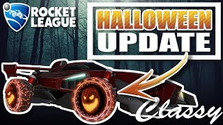ROCKET LEAGUE | HAUNTED HALLOWS | HALLOWEEN UPDATE/EVENT