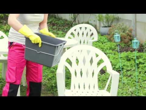 Comment nettoyer efficacement le mobilier de jardin - YouTube