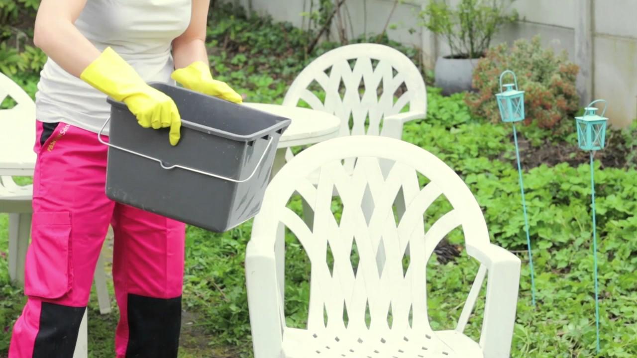 Comment Nettoyer Les Fauteuils De Jardin En Plastique