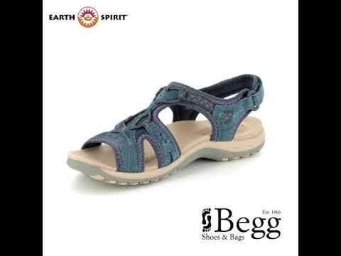 Earth Spirit Fairmount 30237-70 Navy Walking Sandals