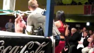 Vinnie Vegas VS Little Hillbilly - Champion VS Champion - AWA 4 July 2013