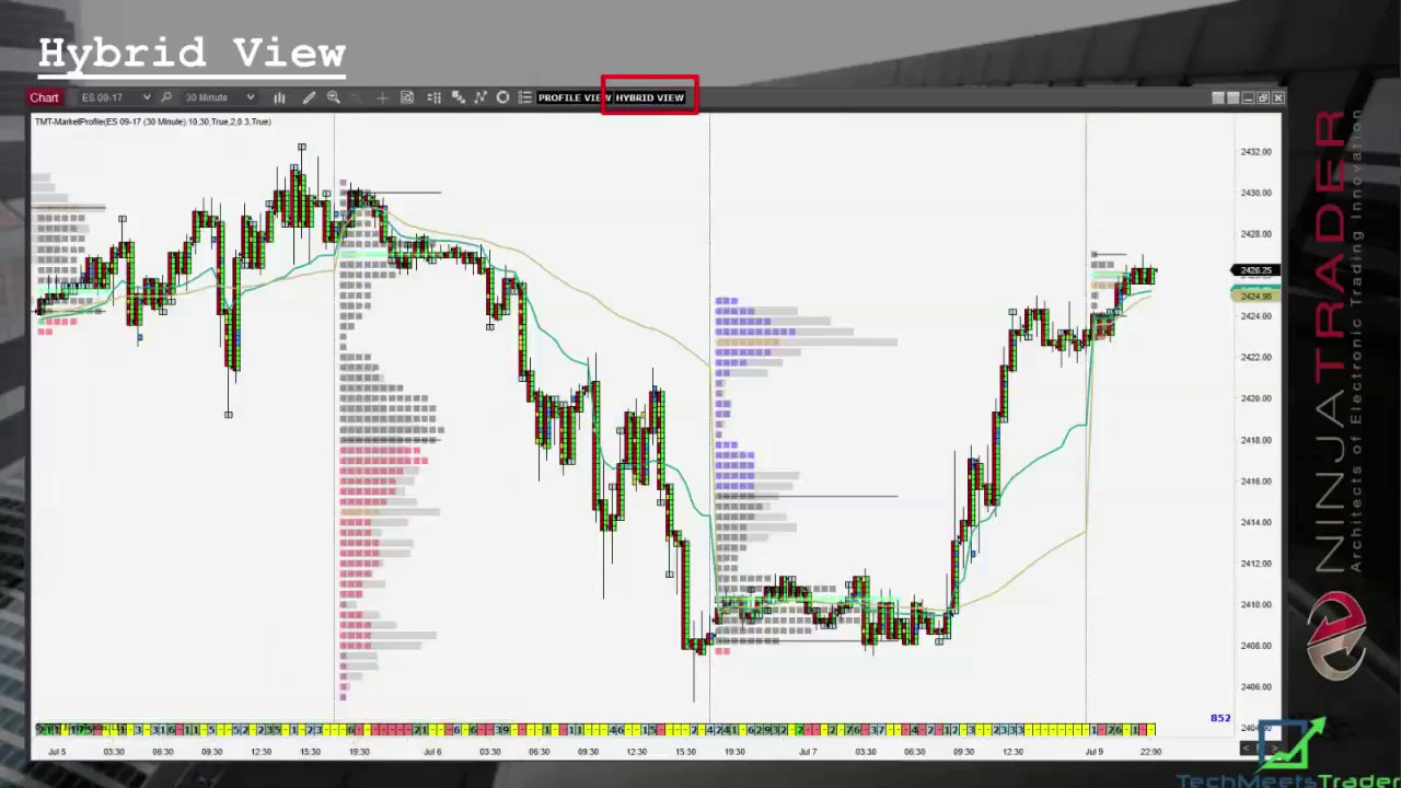 16 ) Market Profile and Order Flow Indicators