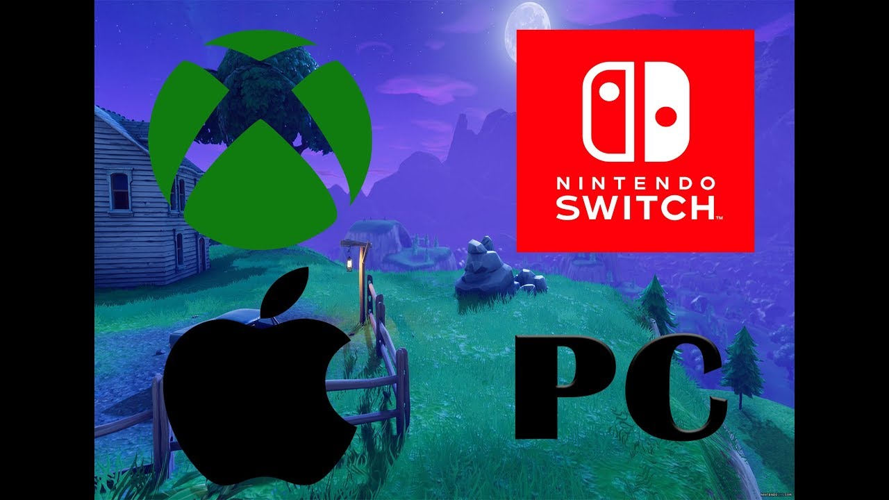 how to cross play xbox switch mobile and pc on fortnite - fortnite switch mobile crossplay