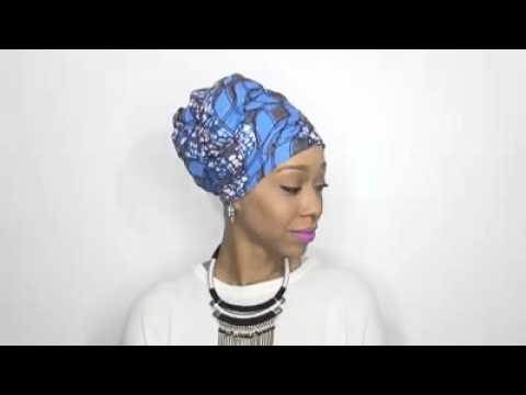 Five Different Ways To Tie Ankara HeadWrap