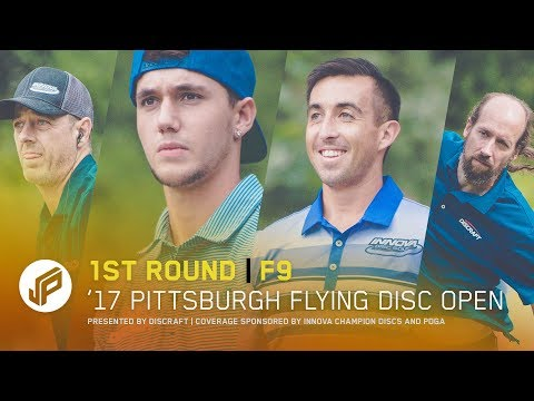 2017 Pittsburgh Flying Disc Open | Round 1, Front 9 | McBeth