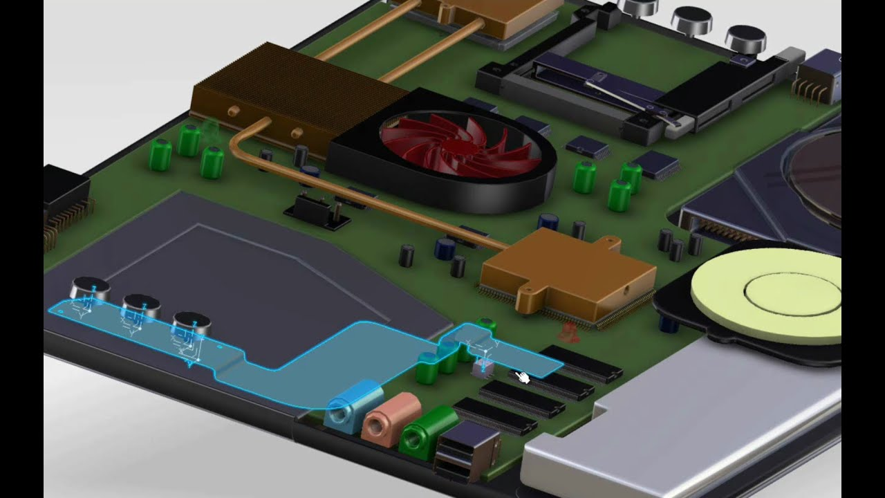 Catia V6 Electronics Amp Circuit Board Design Pcb