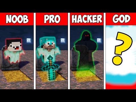 Minecraft NOOB vs PRO vs HACKER vs GOD : GHOST MUTANT EVOLUTION in Minecraft | Animation