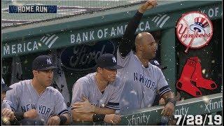 New York Yankees Highlights: vs Boston Red Sox   7/28/19