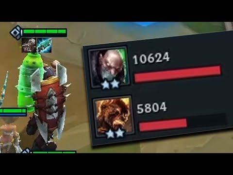 10.000 DAMAGE - SINGED LvL 2 | Teamfight Tactics Gameplay [Deutsch][PBE]