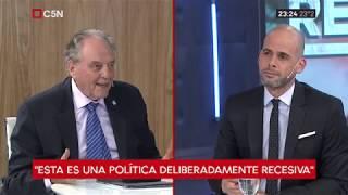 26-11-2018 - Carlos Heller en C5N - Recalculando, con Julián Guarino
