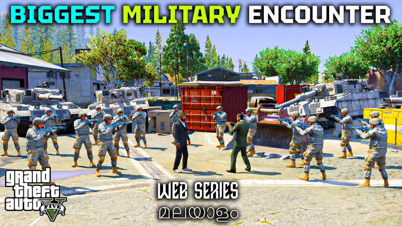 Time to Destroy Military   GTA 5 Web Series മലയാളം #180