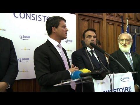 Valls: Les Juifs De France