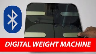 HESLEY Weight Scale with Bluetooth Body Fat BMI Digital with FDA Approved Body Composition Analyzer