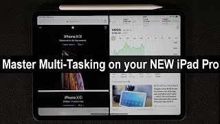 iPad Pro 11-Inch: Discover Split Screen Multitasking (Be More Productive)
