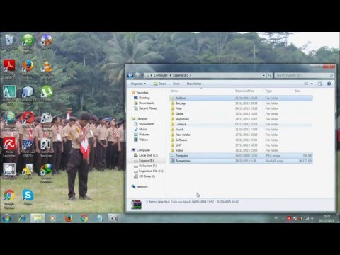 How To Show Hidden File And Folder Windows 7