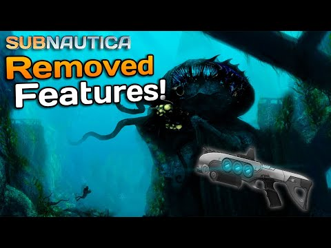 Top 10 REMOVED Subnautica FEATURES!