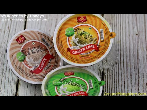 0 - AYUR series by Hangyo - Isabgol, Wheatgrass and Ginger Lime Ice Cream
