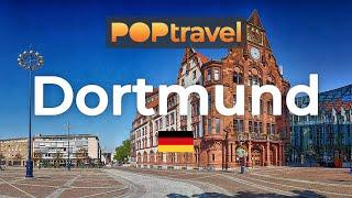 Walking in DORTMUND Germany 4K 60fps UHD