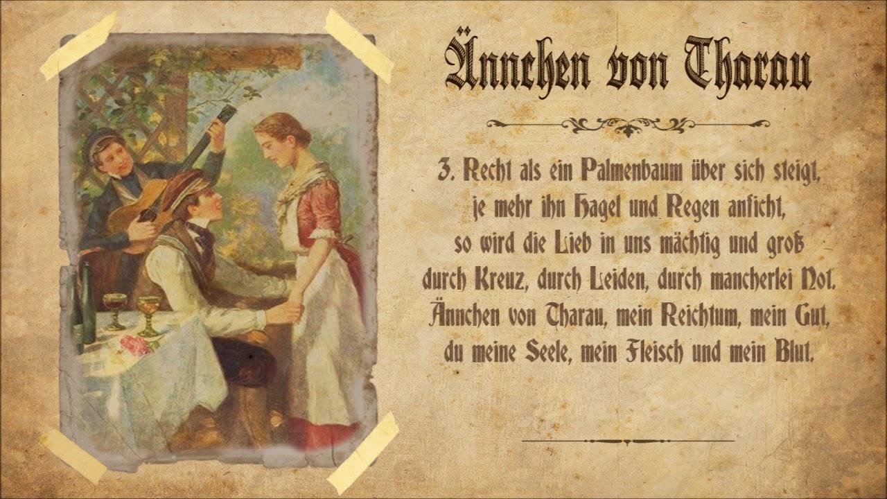 ännchen Von Tharau