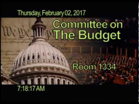 2017-003 Hearing: The Congressional Budget Office's Budget and Economic Outlook [EventID=105505]