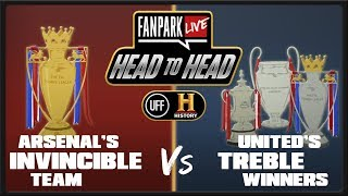 which was the best achievement? invincible or treble winners   fanpark head to head with history