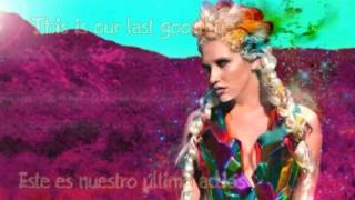 KE$HA - Last Goodbye (Español+Inglés)