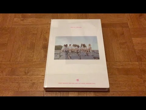 트와이스 Twice 1st Photobook One In A Million Unboxing Ahmonce