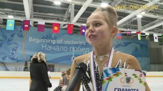 Лучшие фигуристы республики приняли участие в первенстве Якутска
