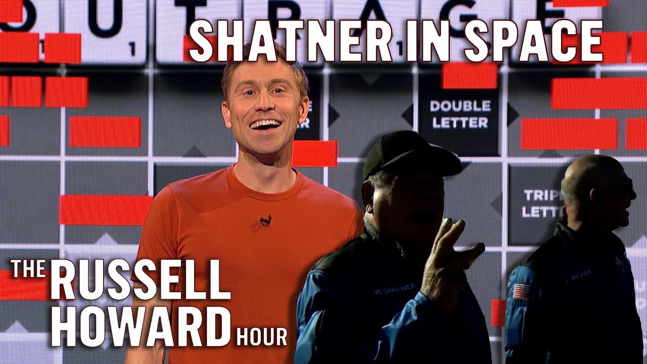 Download Bezos Boldly Sends Shatner to Space   The Russell Howard Hour