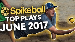 USA Spikeball Top 10 Plays - June 2017