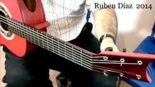 How to put the Strings On (Restring with pegs) A & Q +Tips on Flamenco Guitar / Ruben Diaz CFG
