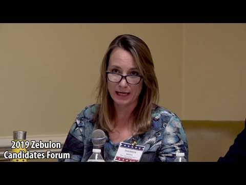 Candidate's Forum Zebulon 2019