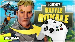 PLAYING FORTNITE ON CONSOLE! (Fortnite Battle Royale)