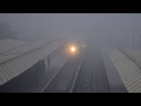 Fog effect: 18 Delhi-bound trains cancelled, 20 running late Mp3