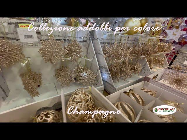 collezione Natale per colore - Champagne