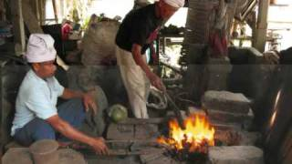 Bali stories 2008 -  fire, iron and deity: a keris is forged to life