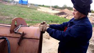 Как приварить чугун к стали!