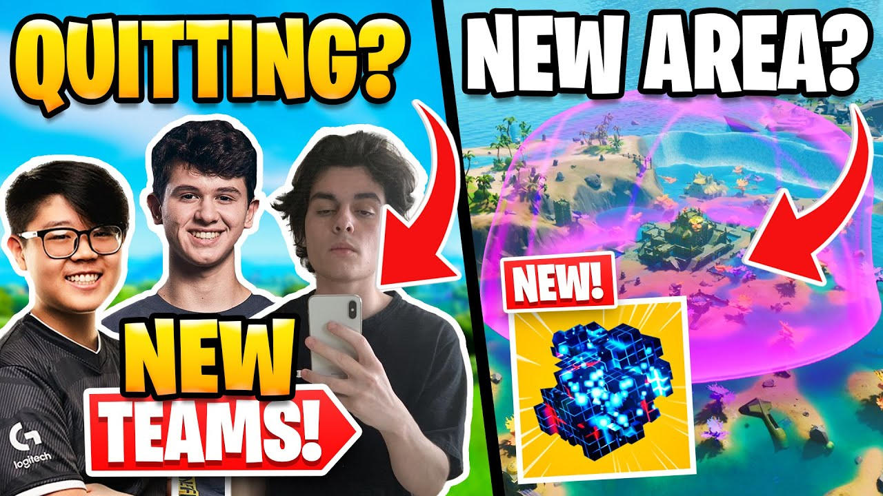 Huge Pro Team Changes in NAE | New Mythic Item and New POI/Biome Leaked?