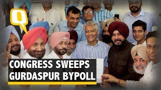 Congress leader Sunil Jakhar won with a sweeping lead of 1.93 lakh ...