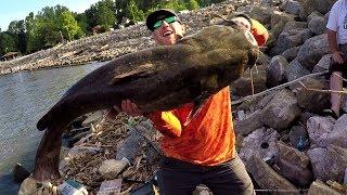 Epic Iowa Catfishing! (70+ pound flathead!)