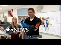 Science teacher and students make prosthetic arm for farmer