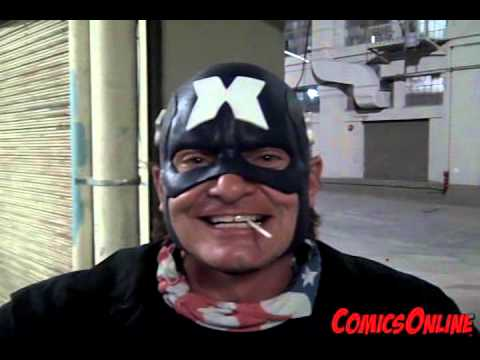 ComicsOnline interview with Evan Stone, star of Captain Amer from YouTube · Duration:  3 minutes 25 seconds