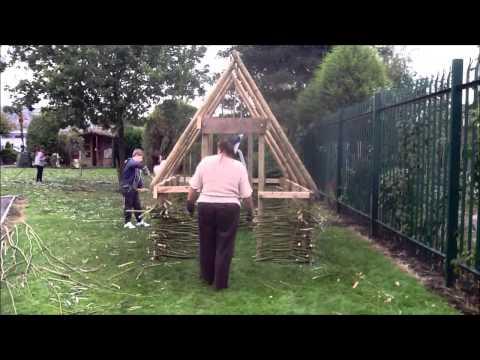 Viking longhouse build