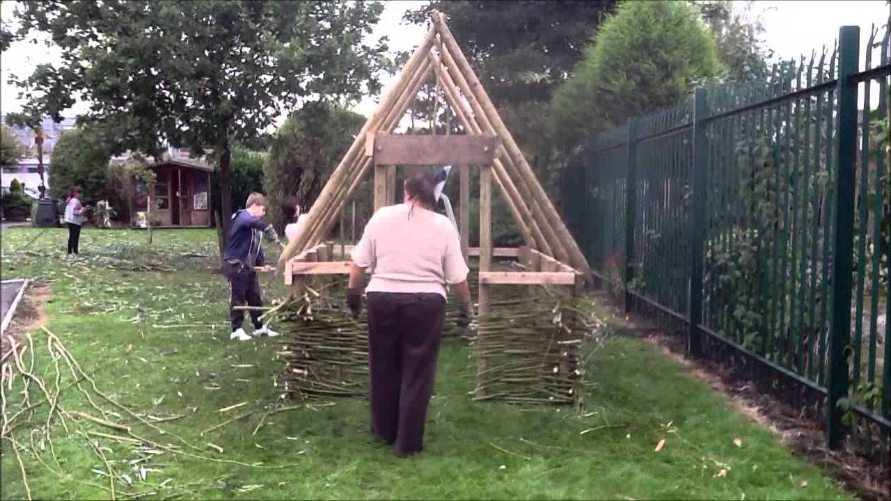 Viking longhouse build youtube for Build your house