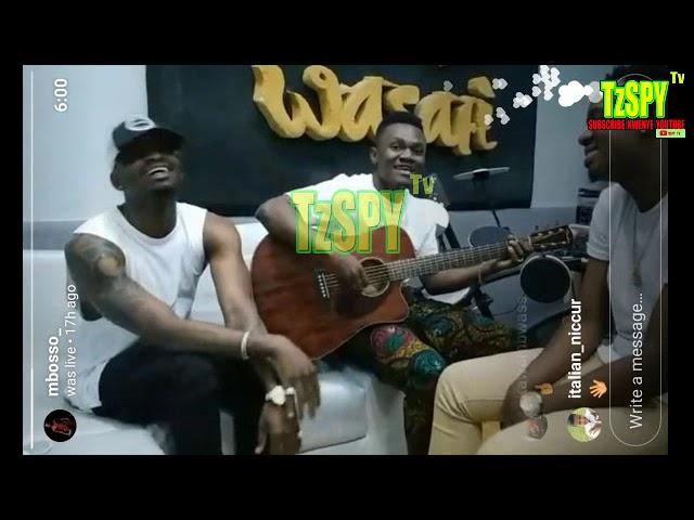 DIAMOND, LAVA LAVA NA MBOSSO WAKIIMBA (WATAKUBALI) LIVE #1