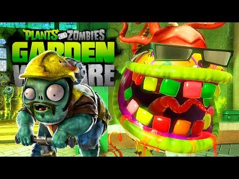 Der BESTE werden - Plants Vs Zombies Garden Warfare Gameplay - YouTube